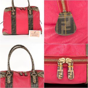 Fendi Bags - ❌ SOLD! ❌ FENDI Zucca Red Bag
